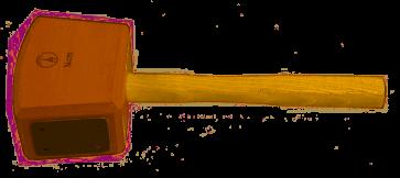 Ulmia Reform-Schreinerklüpfel nach DIN 7461 - Größe 1