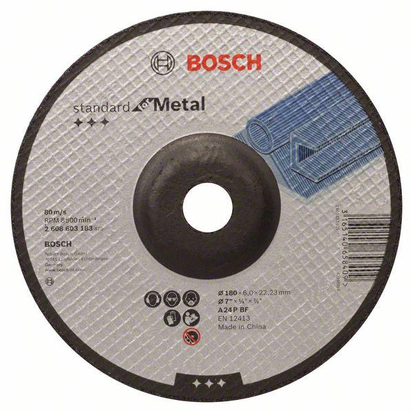 Bosch Schruppscheibe Gekropft Standard For Metal A 24 P Bf 180 Mm