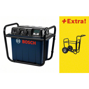 Bosch Generator GEN 230V-1500 Professional Power Unit, mit Transportwagen