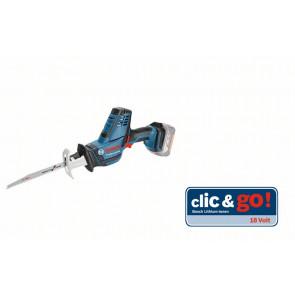 Bosch Akku-Säbelsäge GSA 18 V-LI C, Solo Version, L-BOXX