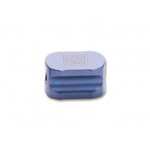 Real Steel Titanium BeadHexagon Blue