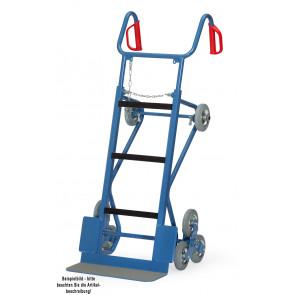 Fetra Gerätekarre  11052  - 400 kg mit Treppensternen 160 x 40 mm