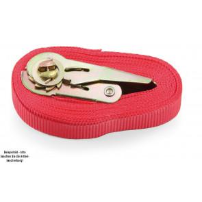 Fetra Spanngurt 11057 Farbe rot mit Mini-Ratsche
