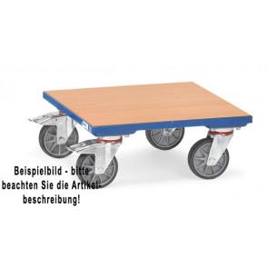 Fetra Kistenroller KF 6 - Holzboden Ladefläche 500 x 500 mm