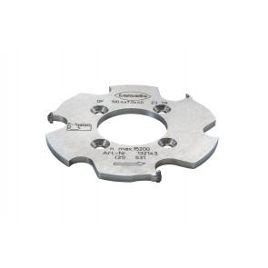 Lamello P-System-Nutfräser CNC, DP (Diamant) für CNC, 100.4x7x40mm, Z3, NLA 4/5,5/52mm