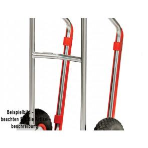 Fetra Kunststoff-Gleitkufen für Stahlrohrkarren 1 Satz (2 Stück) mit Clips