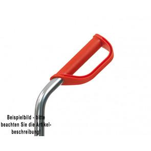 Fetra Handgriff mit Sicherheitsbügel ROT, für Rohr-Ø 27 mm