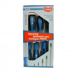 TECFOX Torx-Schraubendrehersatz 6-teilig