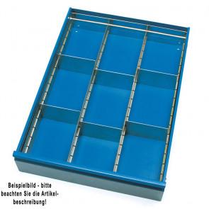 Fetra Zubehör für Tisch- und Werkstattwagen Schubladen-Einteilungs-Set