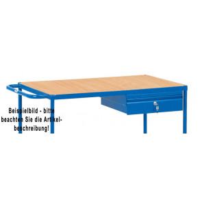 Fetra Zubehör für Tischwagen 500 und 1.000kg: Anbausatz Stahlblechschublade