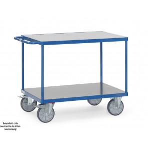 Fetra Tischwagen 2402 mit Hart-PVC-Plattformen Ladefläche 1.000 x 700 mm