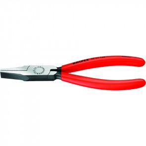 Knipex Flachzange 160 mm poliert, Kunststoff überzogen