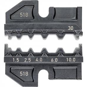 Knipex Crimpeinsatz f. Stoßverbinder 2,5-10 qmm f. Systemzange 9743200