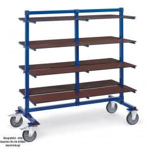 Fetra Etagenboden für Tragarmwagen 1200 x 370 mm - inkl. Befestigungsmaterial