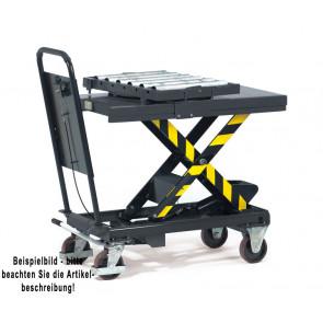 Fetra Rollenbahn mit Kugeldrehkranz Tragkraft 500 kg