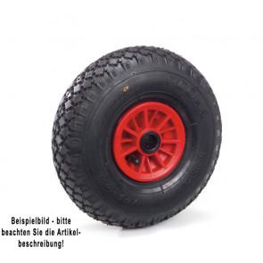 Fetra Luftrad 260 x 85 mm Kunststoff-Felge rot