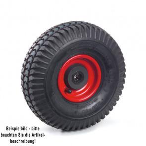 Fetra Luftrad 260 x 85 mm Stahlblech-Felge rot