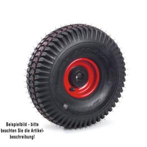 Fetra Luftrad 300 x 100 mm Stahlblech-Felge rot