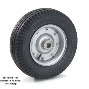 Fetra Luftrad 420 x 115 mm Stahlblech-Felge silber