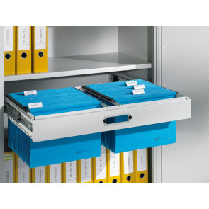 Hängerahmen für Hefter DIN A4, für Aktenschrank mit Drehtüren B930xT500mm