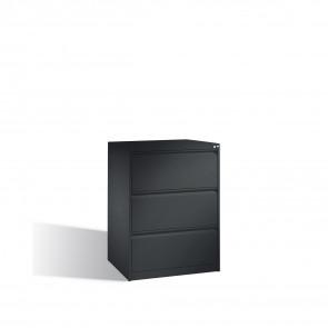 Hängeregistraturschrank Acurado für Hängehefter DIN A4, 3 Schubladen, zweibahnig