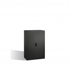 Akten-Sideboard Omnispace mit Rollladen, 3 Ordnerhöhen, H1230xB800xT420mm