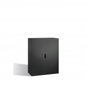 Akten-Sideboard Omnispace mit Rollladen, 3 Ordnerhöhen, H1230xB1000xT420mm