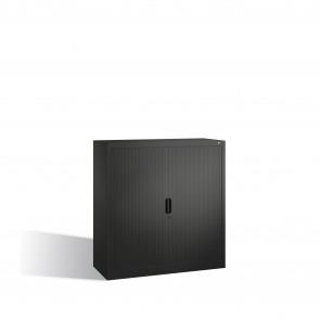 Akten-Sideboard Omnispace mit Rollladen, 3 Ordnerhöhen, H1230xB1200xT420mm