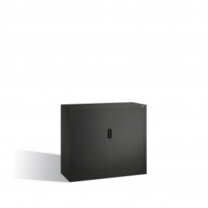 Akten-Sideboard Omnispace mit Rollladen, 2 Ordnerhöhen, H1030xB1200xT420mm