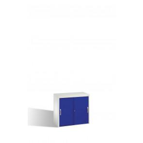 Akten-Sideboard Acurado mit Schiebetüren, 2 Ordnerhöhen, H720xB800xT400mm