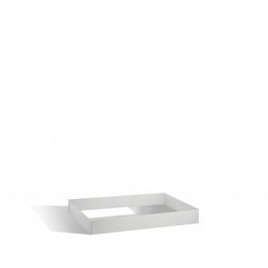 Sockel für Flachablageschrank DIN A0, Höhe 100 mm