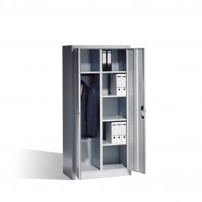 Akten-Garderobenschrank Acurado mit Drehtüren, H1950xB930xT500mm