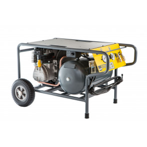Schneider mobiler Kolbenkompressor CPM L 310-10-20 WX, Wechselstromausführung, Filterdruckminderer