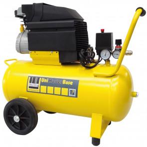 Schneider mobiler Kolbenkompressor UNM 150-8-25 W Base, Wechselstromausführung