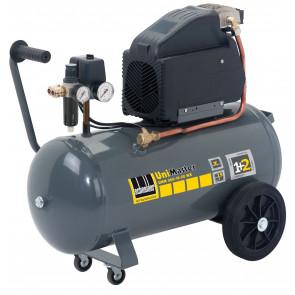 Schneider mobiler Kolbenkompressor UNM 260-10-50 WX, Wechselstromausführung, Filterdruckminderer