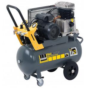 Schneider mobiler Kolbenkompressor UNM 410-10-50 WX, Wechselstromausführung, Filterdruckminderer