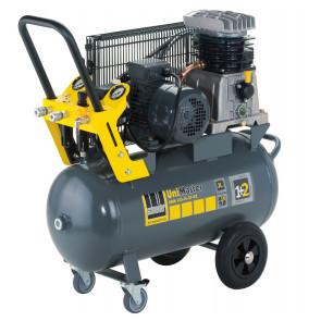 Schneider mobiler Kolbenkompressor UNM 410-10-50 DX, Drehstromausführung