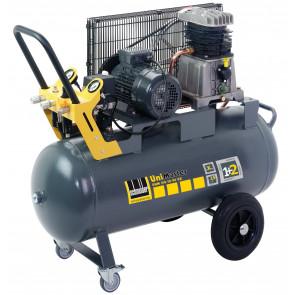 Schneider mobiler Kolbenkompressor UNM 510-10-90 DX, Drehstromausführung