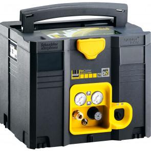 Schneider mobiler Kolbenkompressor SYM 150-8-6 WXOF, Wechselstromausführung, Filterdruckminderer, ölfrei