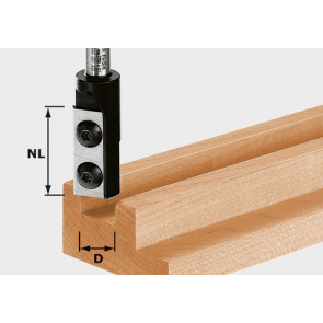 Festool Nutfräser-Wendeplatten HW S8 D12/30 WP Z1