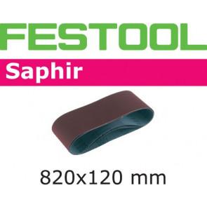 Festool Schleifband 820x120-P150-SA/10 Saphir