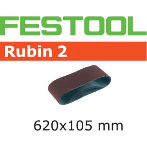 Festool Schleifband L620X105-P60 RU2/10 Rubin 2