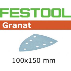 Festool Schleifblatt STF DELTA/7 P320 GR/100 Granat