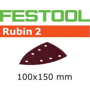 Festool Schleifblatt STF DELTA/7 P80 RU2/50 Rubin 2