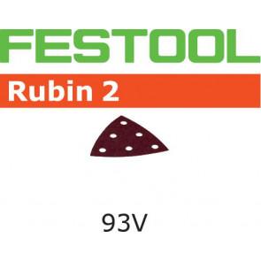 Festool Schleifblatt STF V93/6 P100 RU2/50 Rubin 2