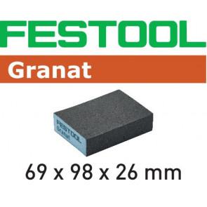 Festool Schleifblock 69x98x26 60 GR/6 Granat