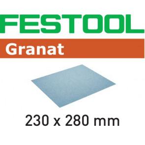 Festool Schleifpapier 230x280 P80 GR/10 Granat