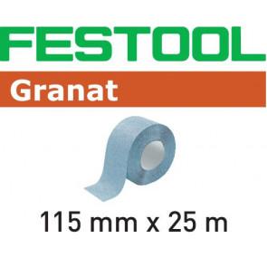 Festool Schleifrolle 115x25m P240 GR Granat