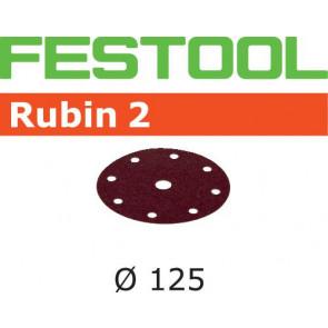 Festool Schleifscheibe STF D125/8 P100 RU2/10 Rubin 2