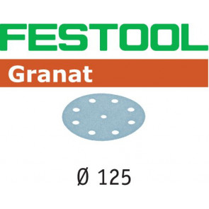 Festool Schleifscheibe STF D125/8 P500 GR/100 Granat